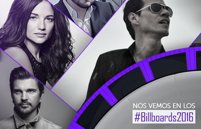 Billboard Latino 2016: Lista de nominados