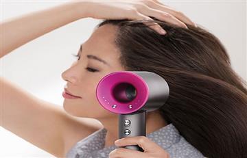 Dyson creó el primer secador de pelo silencioso