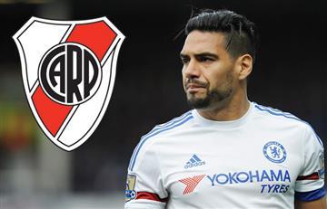 Falcao es el sueño de los hinchas de River Plate