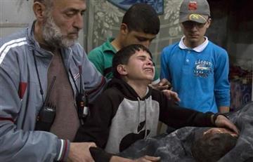 """Alepo: """"Ojalá me hubieran matado a mí en vez de a ti"""""""