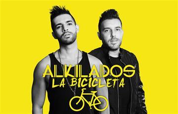 Alkilados estrenó su nuevo sencillo 'La Bicicleta'
