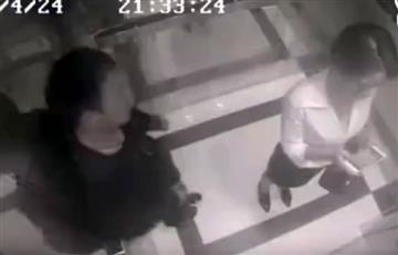 Mujer golpea fuertemente a su acosador