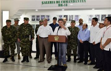 Santos ordena perseguir al ELN mientras no dé muestras de paz