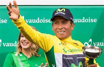 Vuelta de Romandía: En redes felicitan a Nairo Quintana por un título más
