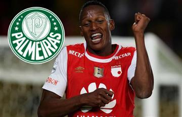 Yerry Mina llegará al Palmeiras la próxima temporada