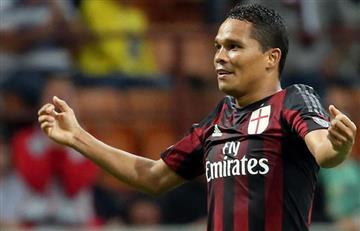 Bacca anotó pero el Milan decepcionó