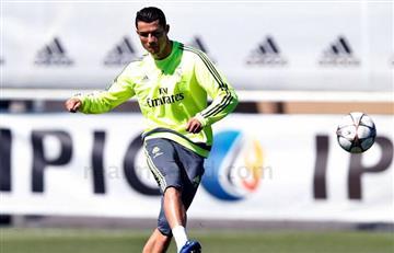 Cristiano Ronaldo podría ser titular contra el Manchester City