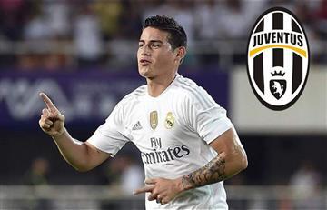 James Rodríguez cerca de jugar en la Juventus