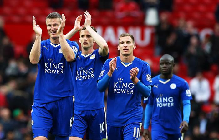 Los tres mejores goles del Leicester en la Premier. Foto: EFE