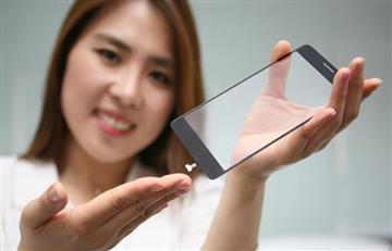 LG crea un sensor de huellas en la pantalla