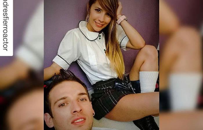 Zulma Rey y Andrés Fierro. Foto: Instagram