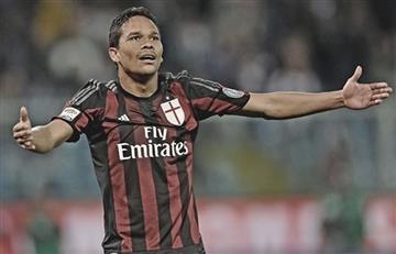 Carlos Bacca habla de su posible salida del Milan