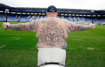 Leicester City: conozca al hincha 'más gordo' del equipo