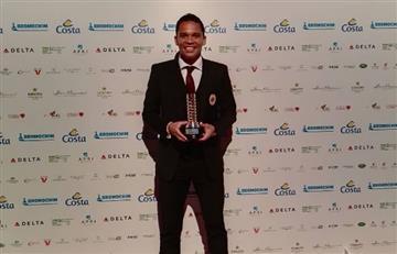 Carlos Bacca fue premiado en Italia