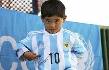 El 'fan' número 1 de Messi tuvo que huir de su país