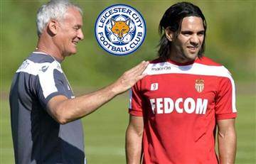 Falcao García podría ir al Leicester de Ranieri