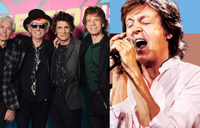 The Rolling Stones, McCartney, Bob Dylan y The Who realizarán un concierto de ensueño