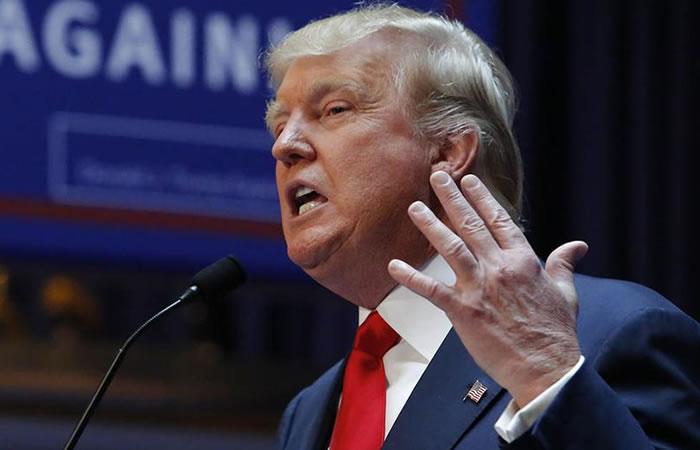 Donald Trump, candidato a la presidencia de Estados Unidos. Foto: EFE