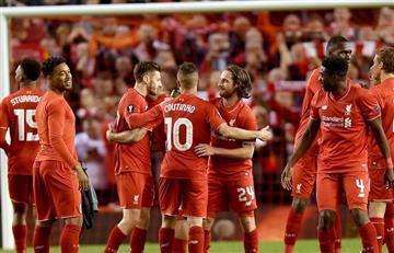 Liverpool consigue un cupo a la final de la Liga de Europa