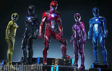 Power Rangers ya tiene imagen oficial
