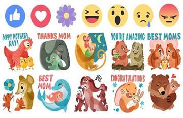 Facebook tendrá 'emojis' y 'stickers' para el Día de las Madres