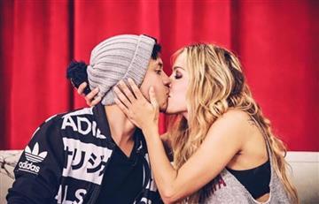 Natalia París besa a un Youtuber y genera polémica