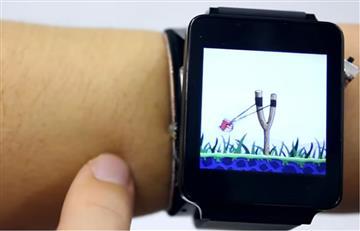 SkinTrack transforma tu piel en pantalla táctil