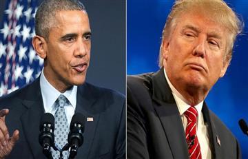 """Obama a Trump: """"ser presidente es un trabajo serio y no entretenimiento'"""""""