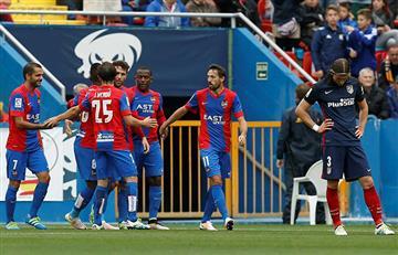 Atlético perdió contra el Levante y entierra el título de la Liga
