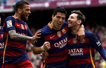 Barcelona sigue líder en la Liga BBVA