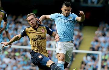 Manchester City empata con el Arsenal en la despedida de Pellegrini