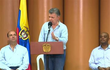 Presidente Santos exige al ELNque dé demostraciones de paz