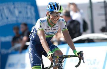 Esteban Chaves dentro del top-10 del Giro de Italia