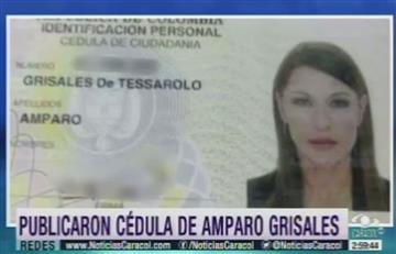 La cédula de Amparo Grisales es viral en Internet
