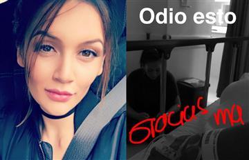 Lina Tejeiro está hospitalizada