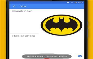 Logra que el traductor de Google cante el tema de Batman
