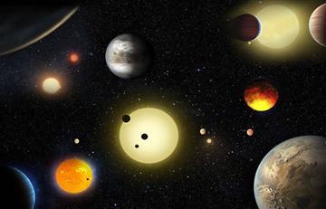 NASA halló 1.284 nuevos planetas