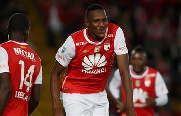 Yerri Mina espera salir campeón con el Palmeiras