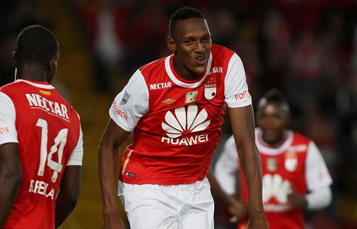 Yerri Mina jugará en Palmeiras de Brasil la próxima temporada. Foto: EFE