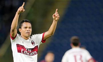 Carlos Bacca uno de los peores del Milán según los hinchas