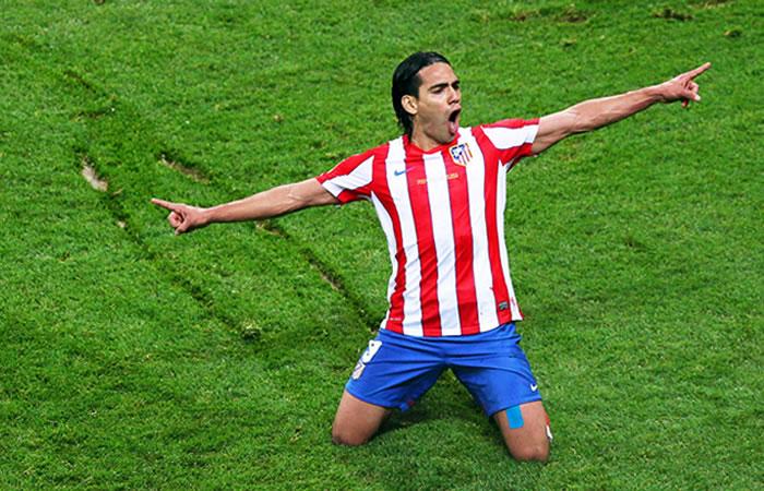 Falcao García, hace cuatro años, tocó la cima del fútbol mundial