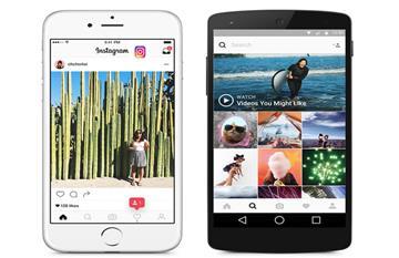 Instagram estrena nueva imagen