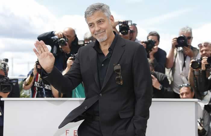 George Clooney en Cannes. Foto: EFE