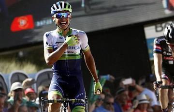 Giro de Italia: Esteban Chaves terminó séptimo en la etapa 6