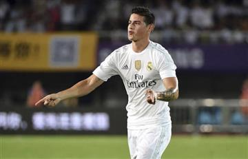 """James Rodríguez es intransferible"", Florentino Pérez"