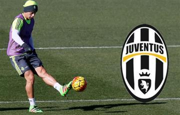 James Rodríguez se reunió en Italia con la Juventus