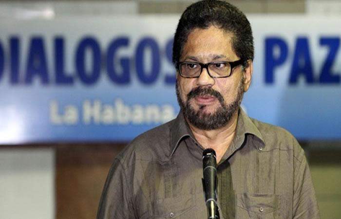 Jefe negociador de las Farc, Iván Márquez. Foto: EFE