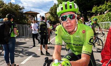 Giro de Italia: Chaves y Urán entre los 10 primeros