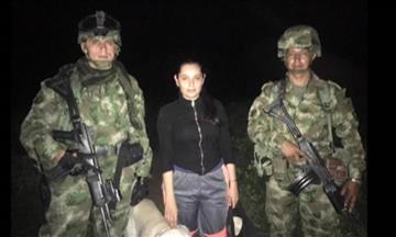 Ejercito rescató a la abogada secuestrada Melisa Trillos