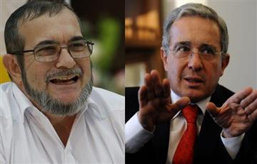 Álvaro Uribe descarta reunión con Timochenko